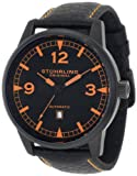 Stuhrling Original Men's 129XL.335557 Aviator Tuskegee Warhawk Automatic Date Black Watch