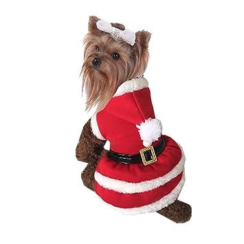 icegrey disfraz de Navidad perro mascota cachorro ropa de ...