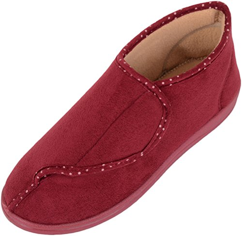 Slippers Indoor Ladies Shoes Womens Red Lightfoot Insole with Foam Dr Memory xffwHaP