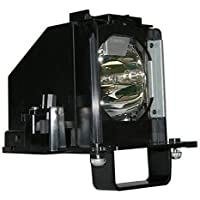 HAWO-LAMPS 915B441001 Projector Lamp replacement bare bulb with housing For Mitsubishi 915B441001, WD-65638, WD-60638, WD-82738, WD-65738, WD-73738, WD-73638, WD-60738, WD-82838, WD-73838, WD-73C10, WD-60C10, WD-65C10, WD-65838 TVs