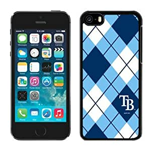 Custom Iphone 5c Case MLB Tampa Bay Rays 4 Pensonalized Phone Covers