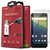 iCarez [Tempered Glass] Screen Protector for Huawei Google Nexus 6P Easy Install With Lifetime Replacement Warranty - Retail Packaging