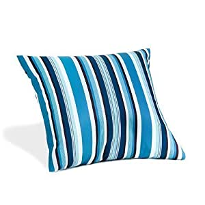 Dorado Collection Gardenista® pendular diseño de rayas 60,96 cm impermeable al aire libre diseño cilíndrico con el relleno ya incorporado Garden cojín de 45 cm