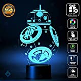 Holinox Star Wars BB-8 Lighting Gadget Lamp and Sticker Set (MT033)