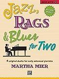 jazz gems - Jazz, Rags & Blues for Two, Bk 5