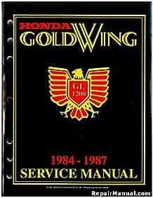 honda goldwing gl1200 1984 1987 service manual american honda motor rh amazon com 1982 honda goldwing wiring diagram 1982 honda goldwing wiring diagram
