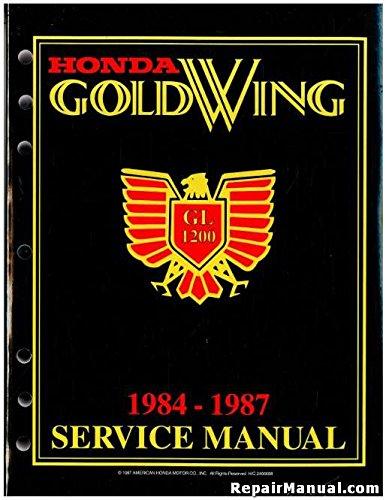 Honda GoldWing GL1200 1984-1987 Service Manual ()