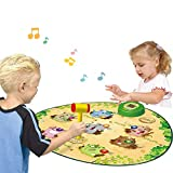 Zigtee Children's Toy Whac a Mole Game Dance Mat Puzzle Music Pad