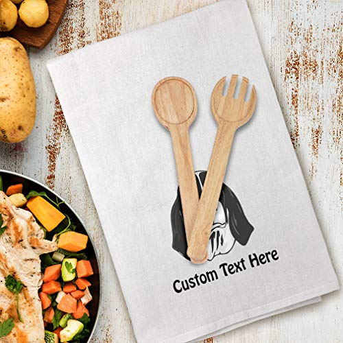 Style In Print Custom Decor Flour Kitchen Towels Ariegeois Head Pets Dogs Cleaning Supplies Dish Towels Design Only 5