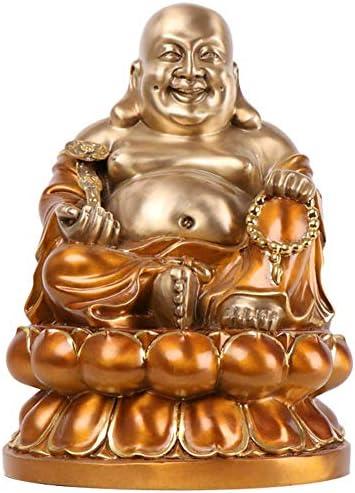 幸せな笑い仏像 仏教座仏収集可能な彫刻 富ラッキー家の装飾ギフト 休み