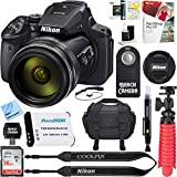 Nikon COOLPIX P900 16MP 83x Super Zoom 4k Wi-Fi GPS Digital Camera + 16GB Memory & Accessory Bundle