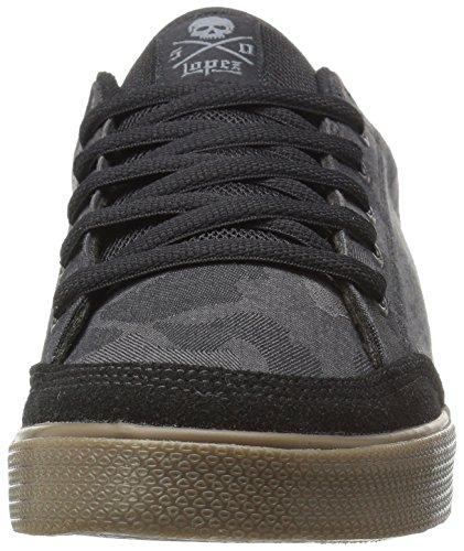 C1rca Lopez 50 Hommes US 10 Noir Chaussure de Basket