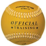 ProNine Heavy Weighted Training Baseball Ball For Pitching and Throwing Practice (10 oz)