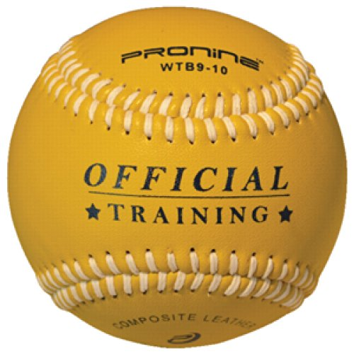 ProNine Heavy Weighted Training Baseball Ball For Pitching and Throwing Practice (10 oz) by ProNine