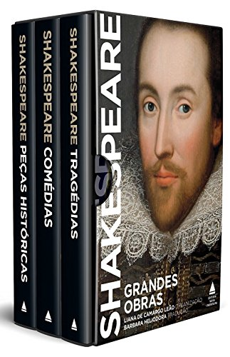 Grandes Obras de Shakespeare - Caixa