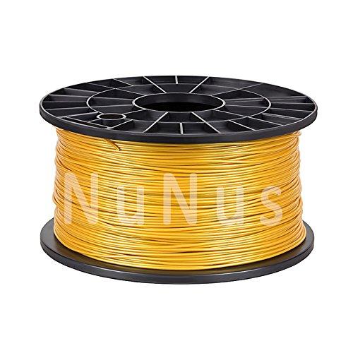 NuNus 3D impresora HIPS apoyo filamento 1,75mm 1KG (oro): Amazon ...