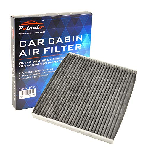 POTAUTO MAP 1068C (CF12000) Activated Carbon Car Cabin Air Filter Replacement for Chrysler, 200, Jeep Cherokee