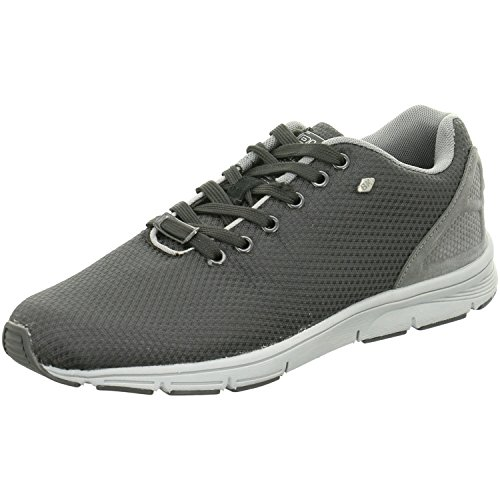 BK - Jump B36-3606-06 Black-Grey Damen Sneaker Hellgrau Herren Jungen