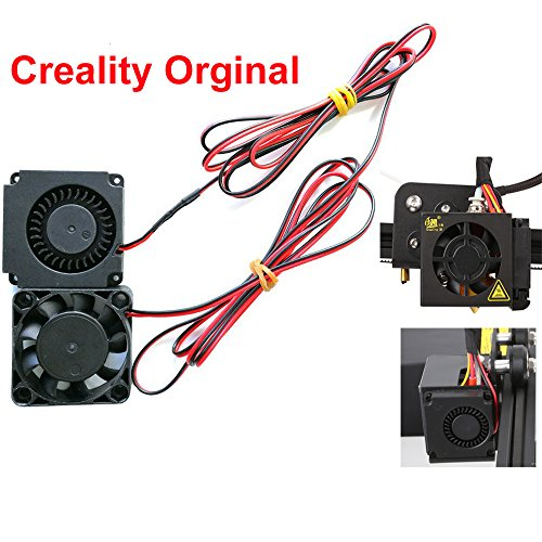 Creality CR-10 4010 Blower 40x40x10MM 12V DC Cooling Fan and 12V Circle Fan for 3D Printer Parts CR-10,CR-10S,S4,S5 by Creality 3D