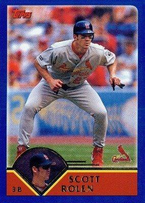 (2003 Topps # 489 Scott Rolen St. Louis Cardinals - Baseball Card)
