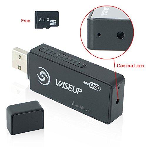 WiseupTM Hidden Recorder Activated Camcorder