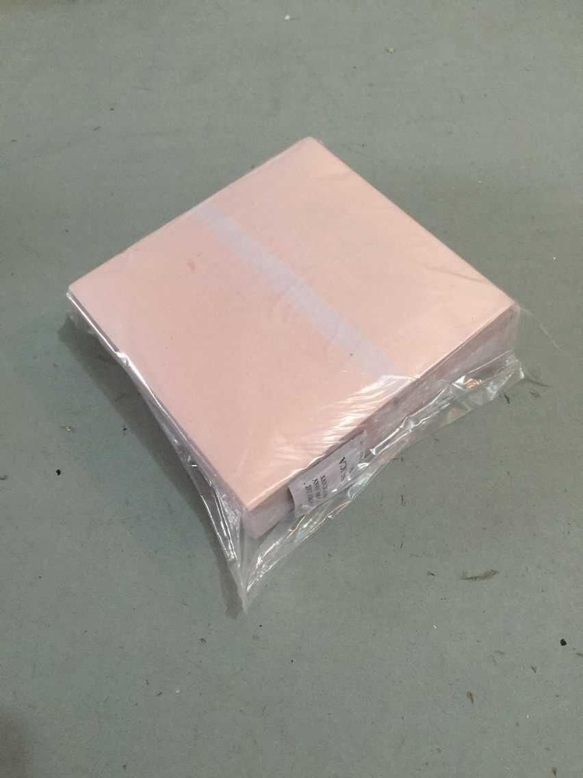 1000 sheets 14 X 14cm Imitation gold leaf gilding foil red genuine 100% copper leaf #0...