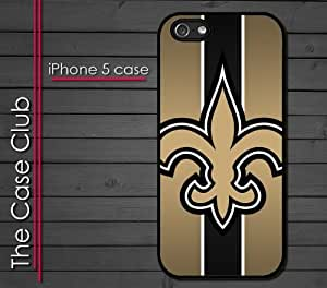 iPhone 5 Rubber Silicone Case - New Orleans Saints Football by kobestar