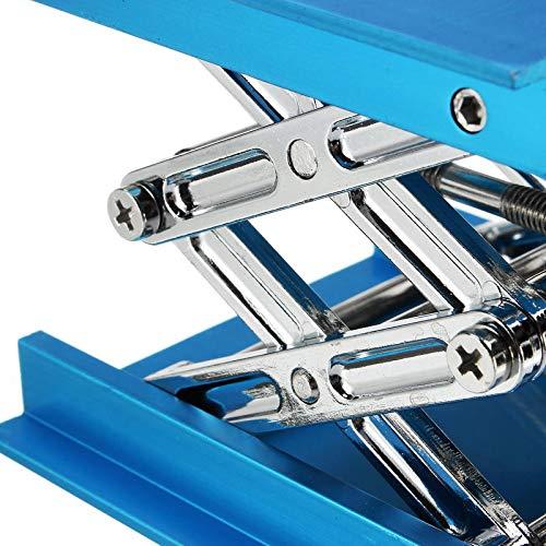 4 x 4'' Lifting Platform Lab Stand Laboratory Lift Riser Lifter Scissor Aluminum Alloy 100x100x150mm