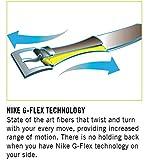 Nike Boys' Big Stretch Woven Belt, black, XL