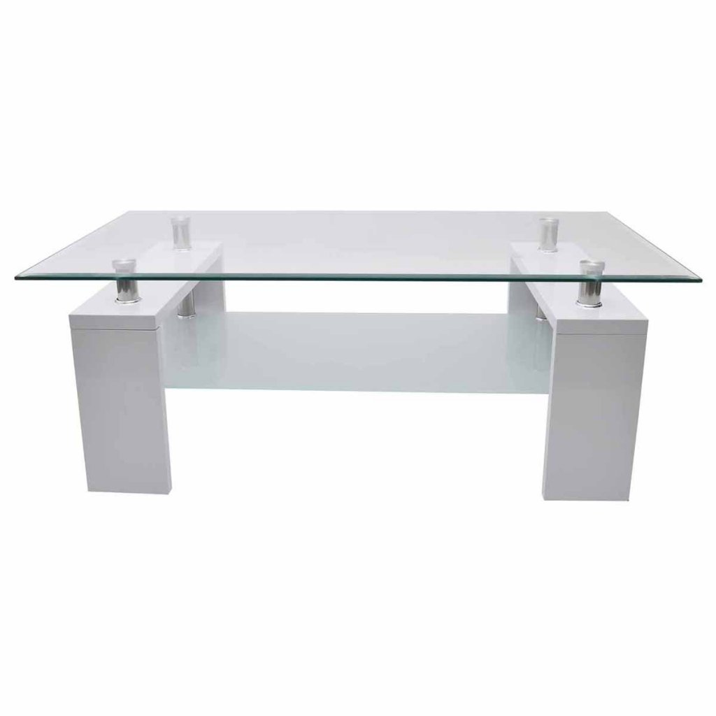 High gloss white coffee table amazon kitchen home geotapseo Images