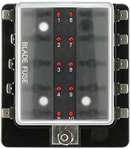 En línea portafusibles cuchilla estándar a prueba de salpicaduras todos los tipos y cantidades Coche Furgoneta