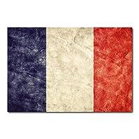 Placa Decorativa - Bandeira França - 0303plmk