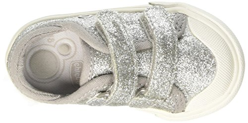 Chicco Galassia, Sneakers para Bebés Plateado (Argento)