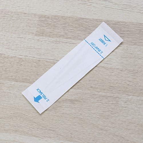 HEALLILY 150pcs Digital-Thermometer-Abdeckungen Wegwerfsonden-Abdeckungen f/ür Krankenhaus-Klinik-Gesundheitszentrum