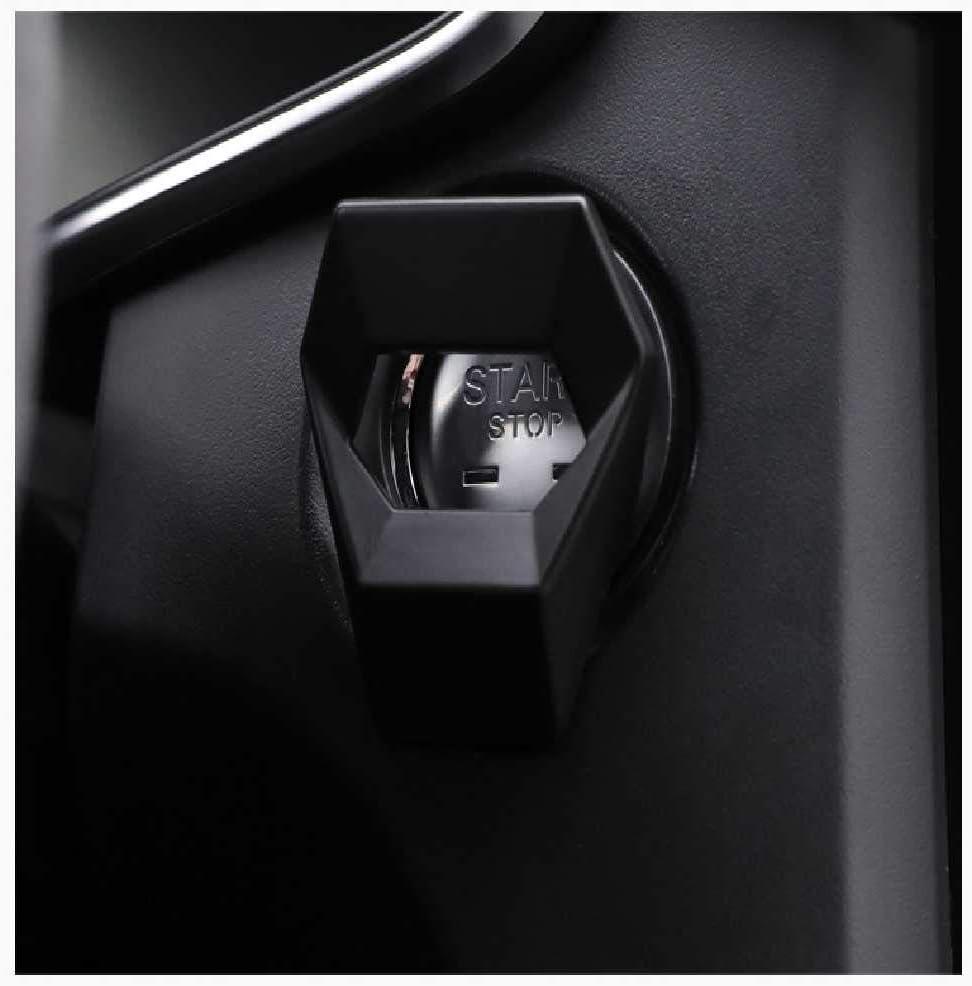 NIUHAIQING Universal Car Interior Engine Start Stop Push Button Switch Accessoires Autocollant De Voiture Start Stop Button Housse De Protection Anneau 1PCS// Rouge