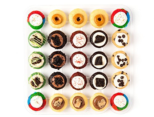 Baked by Melissa Cupcakes The O.G. (Original Greats) - Assorted Bite-Size Cupcakes, 25 Count (Melissa By Baked Cupcakes)
