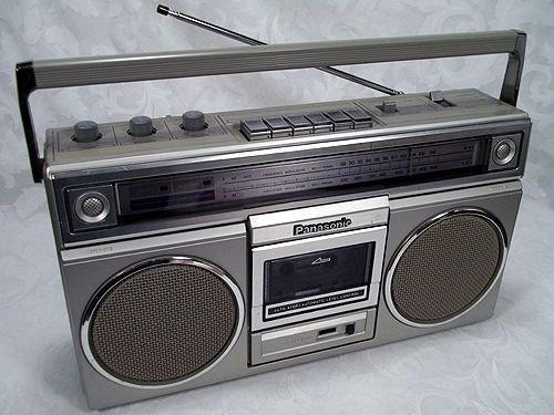 Panasonic RX 5010 BOOMBOX Stereo Ghetto Blaster Tape Deck