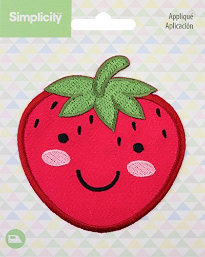 Strawberry Wright - Wrights Strawberry Baby Iron-On Applique
