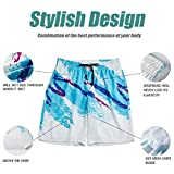 Belovecol 90s Trendy Board Shorts for Men Fashion