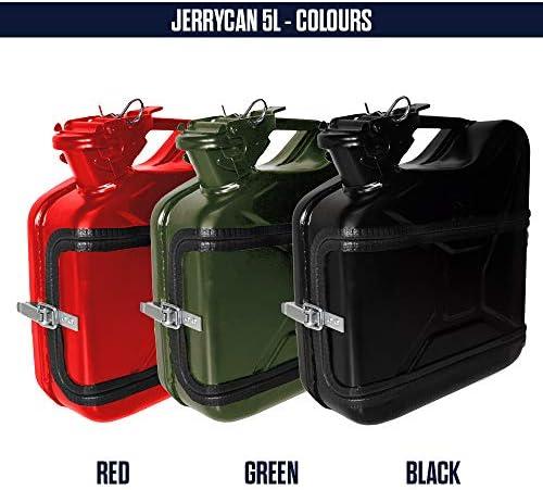mikamax – Jerrycan Whiskeybar 5L – Kanister Minibar – Mobile Bar – 5L – Grün – Metal – 24.5 x 9.5 x 28 cm – Männergeschenke – Whisky Geschenkset