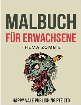 Malbuch für Erwachsene: Thema Zombie