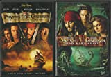 Pirates of the Caribbean 4 Movie Set! Curse of the Black Pearl, Dead Man's Chest, At World's End, and on Stranger Tides 4-DVD Combo!