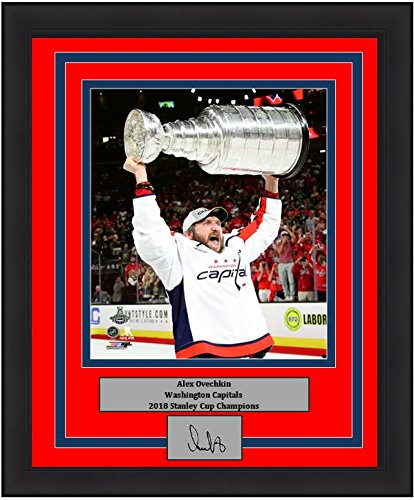 Image Unavailable. Image not available for. Color  Washington Capitals 2018  Stanley Cup Champions Alex Ovechkin Trophy Engraved Autograph ... a379ae59b