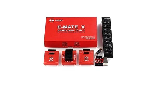 Amazon com: E-Mate X 13 in 1 BGA eMMC Chip Reader Writer