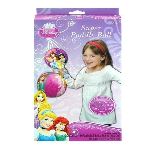- Disney Princess Inflatable Toy Deluxe Paddle Ball
