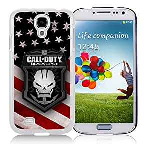 New Fashion Antiskid Skin Case For Samsung S4 call of duty Samsung Galaxy S4 White Phone Case 075