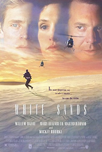 1992 Sand - White Sands 1992 D/S Rolled Movie Poster 27x40