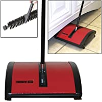 Oreck Hoky Rotorbrush Floor & Carpet Sweeper With Genuine Boar Bristle Brush