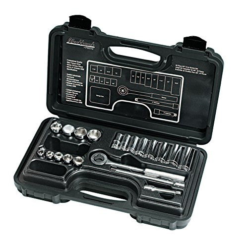 Blackhawk? 20 Piece Deep and Standard Socket Set, 3/8 in, 12 Point