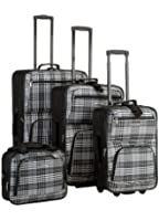 Rockland Luggage Four-Piece Luggage Set
